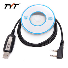 TYT DMR380 USB Programming Cable support Win10 for DMR Radio TYT MD-380 MD-390 DMR Digital Walkie Talkie Two Way Radio