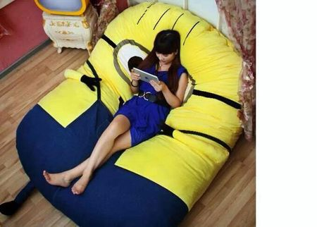 Christmas gifts HOT! Minion sleeping bed/Despicable Me
