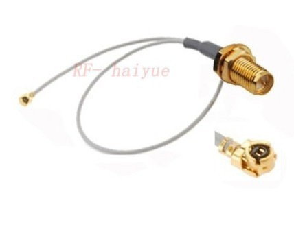 100pcs IPX / u.fl to RP-SMA feamle pigtail sma cable 15cm for PCI Wifi Card wireless Router
