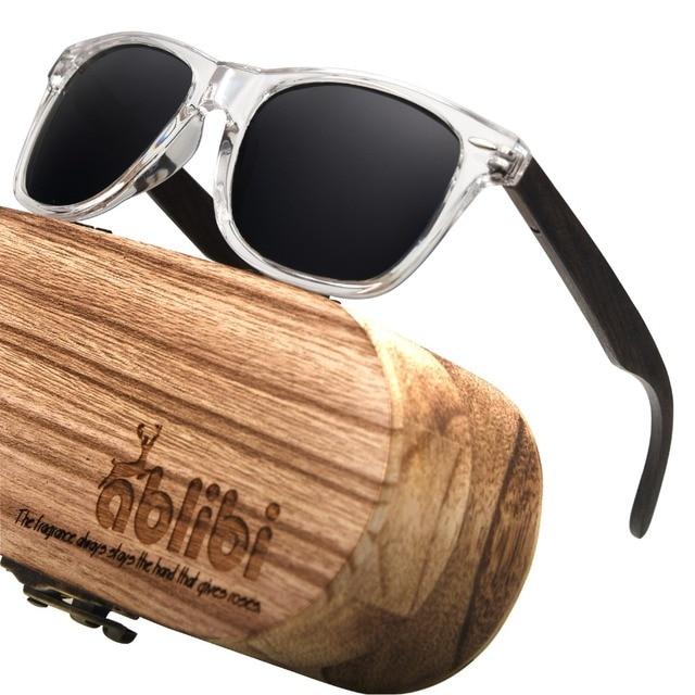 87db8038b6357d Ablibi Womens Polarized Sunglasses Wood Bamboo Sun Glasses for Mens Shades  UV 400 Dark Polarised Lenses in Wood Case