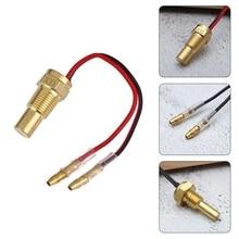 10MM 12MM 1PC 12V/24V Car Truck Digital Water Temperature Sensor Head Plug