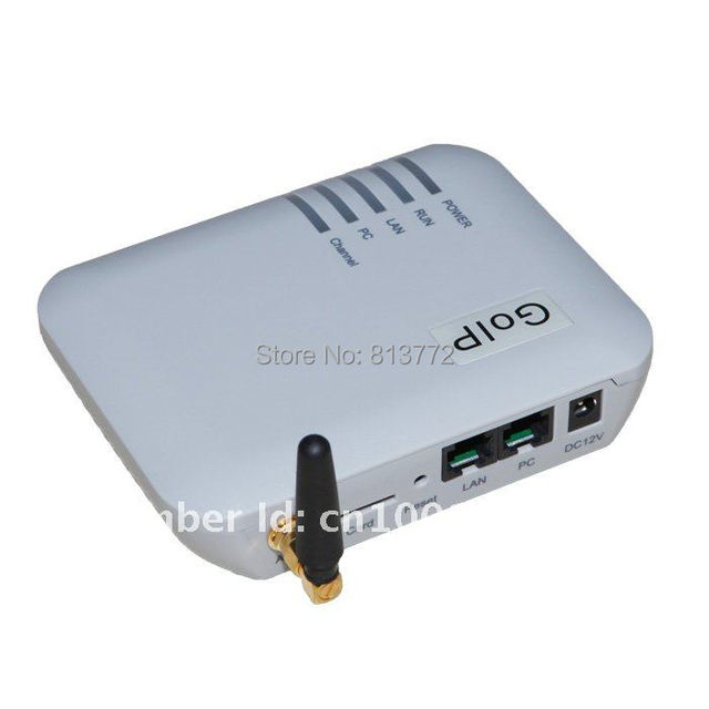 Hot sell - Single channel VoIP GSM Gateway / GSM-VoIP Gateway / GOIP1 internet voip gateway