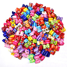 100pcs Small Pet Puppy Dog Cat Hair Bows with Rhinestone Mixed Patterns Pet Dog Grooming Accessories for Small Dogs Pet Products
