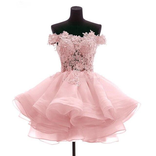 2a0571e64fc Encaje Vestido de Noche Corto 2016 Vestidos de Noche Robe de soirée traje  de gala vestido