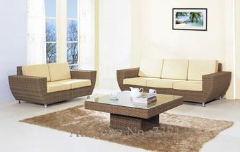 Outdoor Rattan Furniture Sofa 1