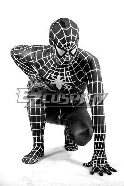 <font><b>Marvel</b></font> <font><b>Spiderman</b></font> <font><b>Black</b></font> <font><b>Cosplay</b></font> <font><b>Costume</b></font> E001