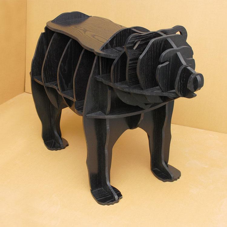 Wysokiej klasy 42-calowy niedźwiedź wielofunkcyjny biurkowy stojak - Meble - Zdjęcie 6