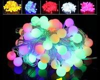 100Meters 600Leds 8 Modes String Lights Small Ball Lights Outdoor Waterproof Decoration Light String 220V EU