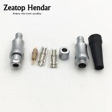 1 זוג אוזניות זכר סיכות עבור HD800 אוזניות אוזניות אודיו כבל DIY מחבר מתאם LN004010