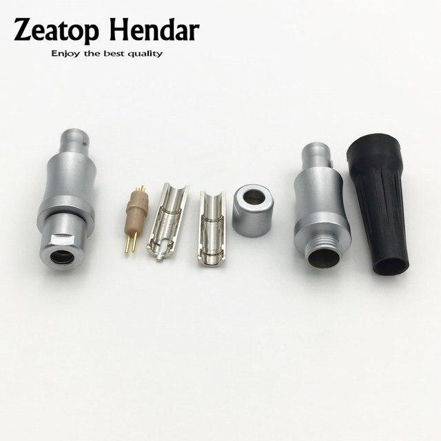 1 çift kulaklık erkek pimleri HD800 kulaklık kulaklık ses kablosu DIY bağlayıcı adaptörü LN004010