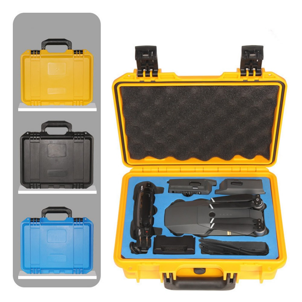 Новое поступление DJI Mavic Pro RC Дрон водостойкий анти-шок пластиковый чемодан высококлассный чехол для переноски Стандартный Расширенная защи...