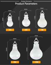 High Power 12V Led Bulb SMD 5730 Portable Led Lamp Outdoor Camp Tent Night Fishing Hanging Light lamparas 3W 5W 7W 9W 12W