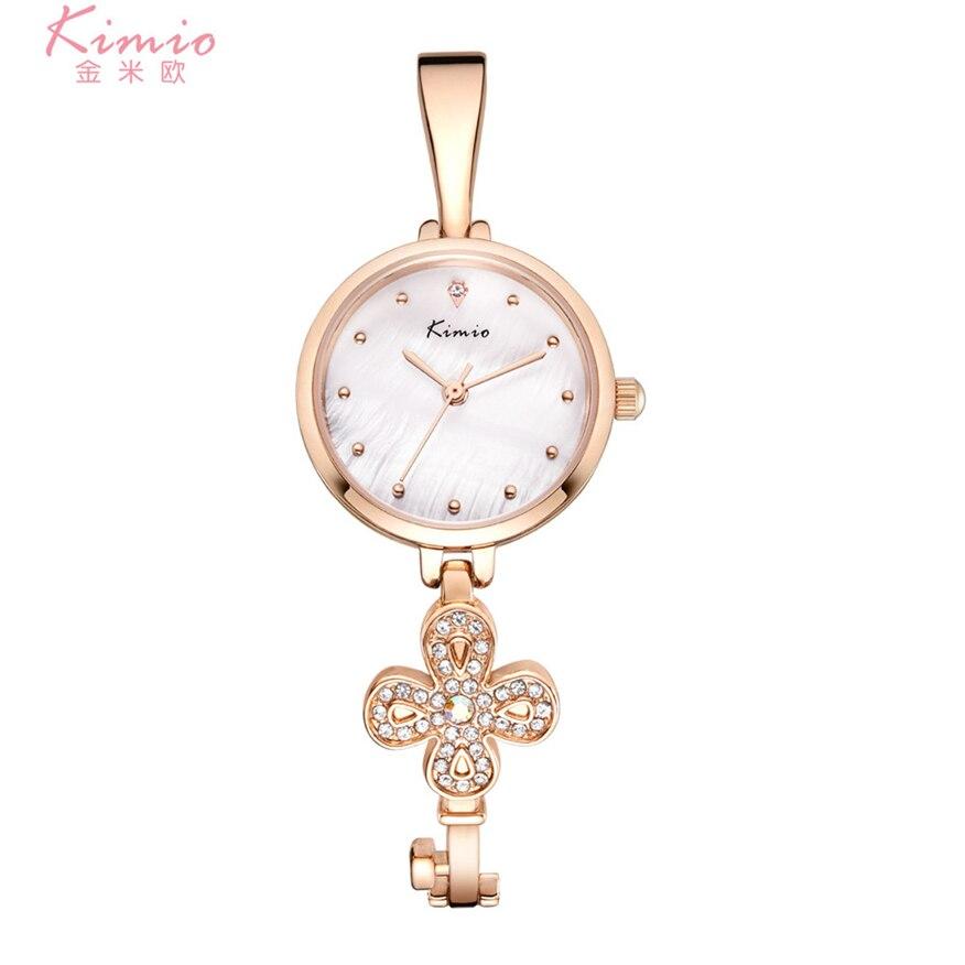 цена  Kimio Ultra Slim Pulseira Feminina Ladies Watch Fashion Quartz WristWatches K6212S Fashion TOP BRAND  онлайн в 2017 году