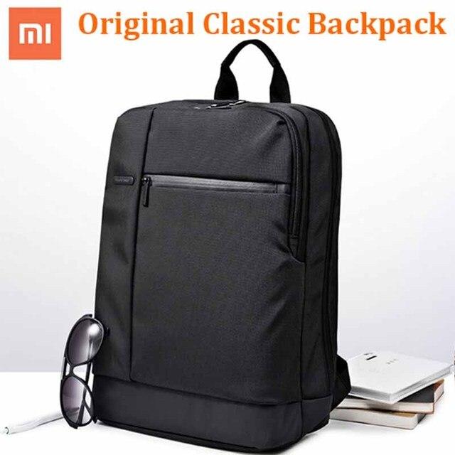 100% Оригинальные Классические деловые рюкзаки Xiaomi, вместительная Студенческая сумка, дорожная школьная сумка для ноутбука Macbook air 12,5 13,3