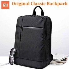 100% オリジナル xiaomi クラシックビジネスバックパック大容量の学生バッグ旅行スクールオフィス macbook ノートパソコンの空気 12.5 13.3