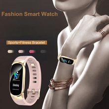 New Fashion Women Smart Bracelet Luxury Bluetooth Men Sport  Smartwatch Heart Rate Blood Pressure Monitor Watch For IOS Android
