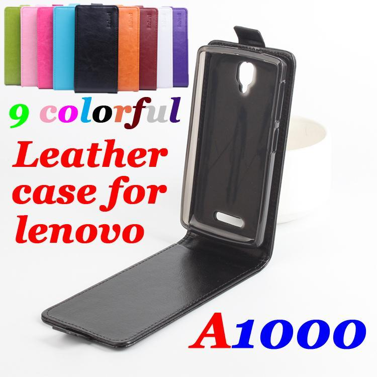 Flip Case For Lenovo A1000 Phone Case Brand Luxury Leather Flip Vertical Lenovo A2800 Cell Phone