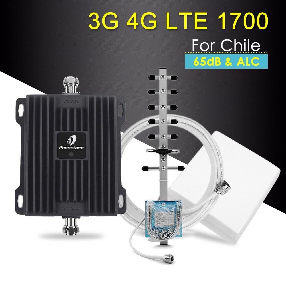 Amplificateur de Signal 4G AWS 1700 MHz B4 amplificateur de Signal cellulaire 3G 4G répéteur amplificateur 4G LTE amplificateur de répéteur de Signal Mobile 1700