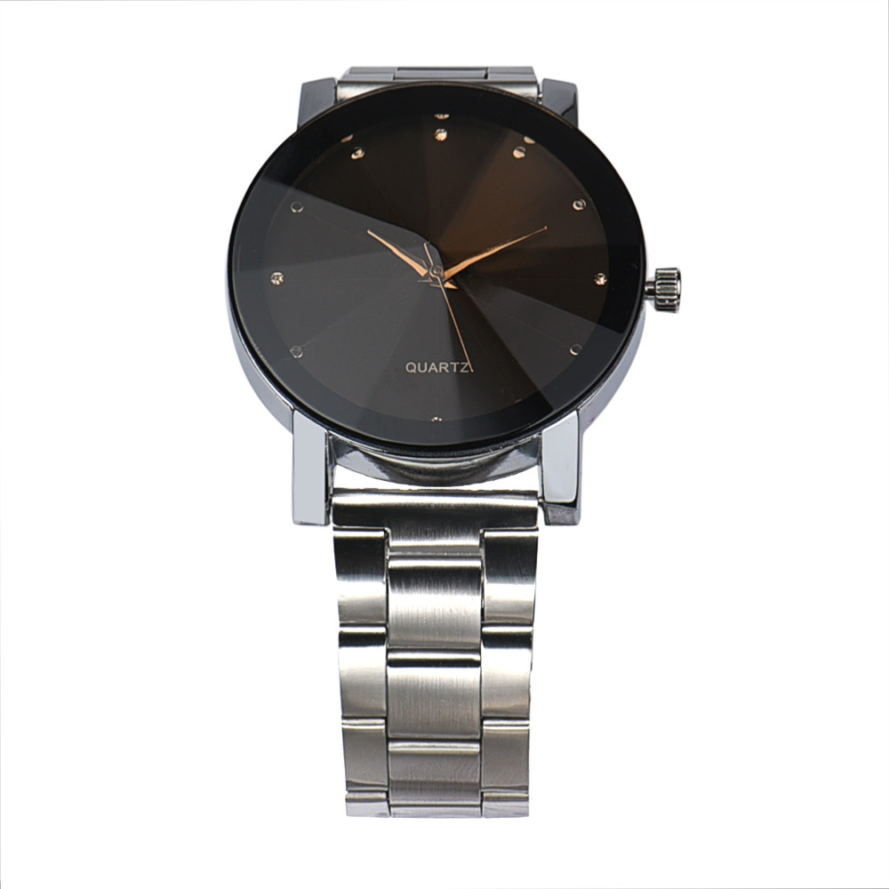 Reloj de pulsera de cuarzo analógico de cuarzo de acero inoxidable - Relojes para hombres - foto 5