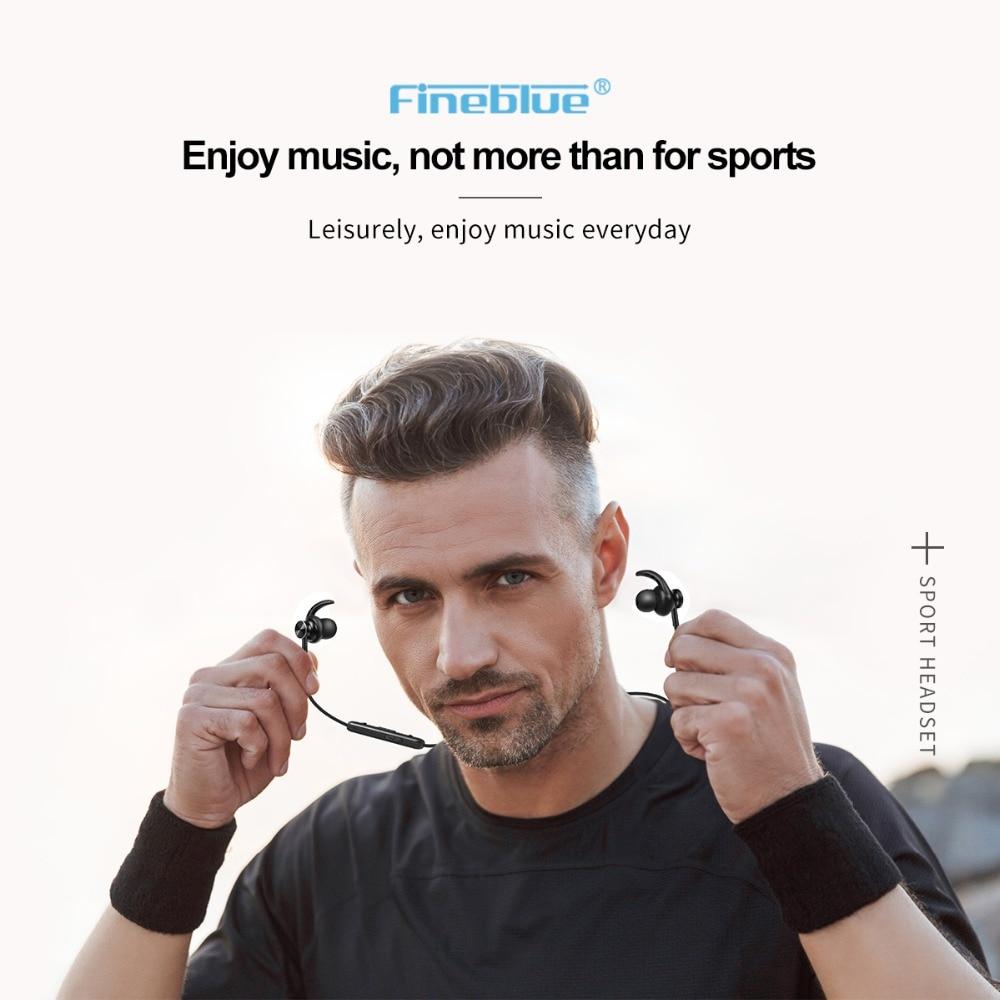 Astrosoar-Bluetooth Headphone - FineBlue Mate10 Professional Wireless Bluetooth Sport Earphones