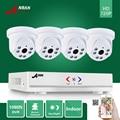 Anran 1080n 4ch ahd dvr hdmi 6 ir day night 720 P 1800TVL Indoor Dome Câmera de CCTV Casa de Segurança de Vídeo a Cores sistema