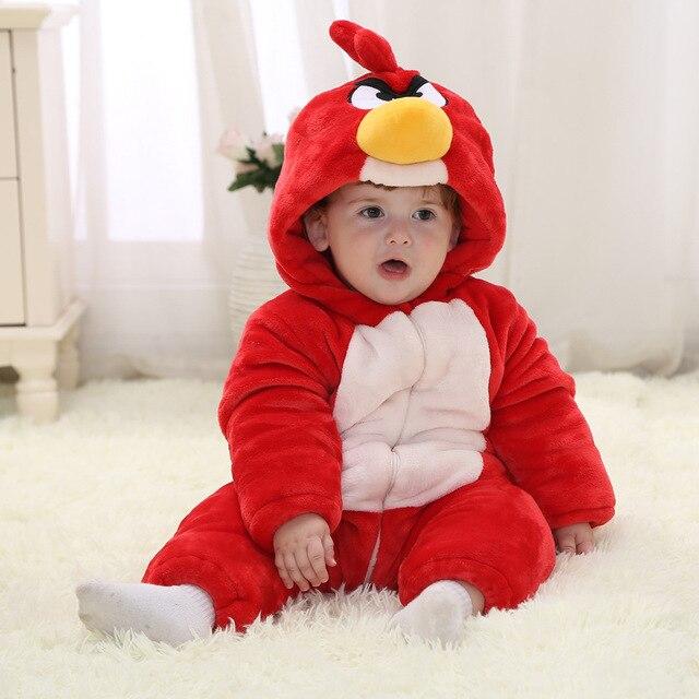 Fashion infant snowsuits cute animal warm winter jacket snowsuit jumpsuit toddler boy winter coats (600-700g)