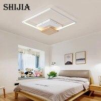 Простой современный потолочный светодио дный потолочный светильник коммерческое освещение для кухни гостиная спальня Внутреннее освещен
