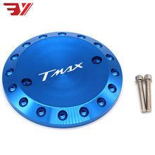 Motorcycle For Yamaha T MAX 530 2012-2015 TMAX 500 2008-2011 CNC Accessories Engine Protective Cover TMAX Engine Stator Cover kemimoto tmax530 motorcycle accessories cnc mirror hole cap cover driven mirror eliminators for yamaha tmax 530 2012 2013 2015