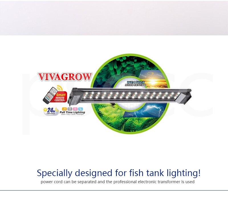 LED aquarium lights freshwater aquarium lights Aquarium fish tank lamp ODYSSEA DN80 DN 80 aquarium lamp