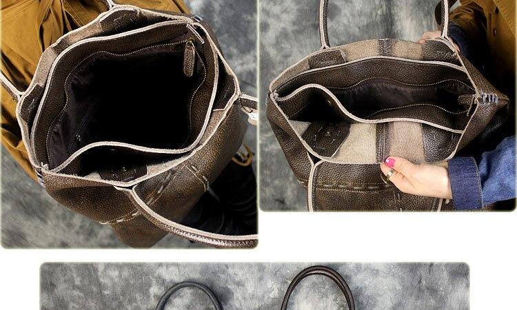 couro genuíno bolsa feminina bolsas grande capacidade