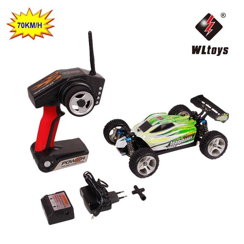RC автомобиль WLtoys A959 A959-B 2,4 г 1/18 Масштаб дистанционного управления Внедорожный гоночный автомобиль Высокая скорость трюк внедорожник игрушк...