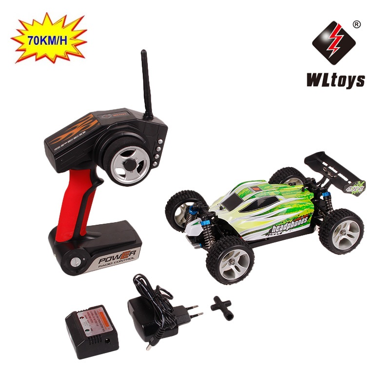 RC Car WLtoys A959 A959-B 2.4G 1/18 Scale Remote Control Off-road Racing Car High Speed Stunt SUV Toy Gift For Boy RC Mini Car