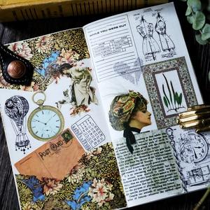 Image 2 - 20sets/1lot Kawaii Schreibwaren Aufkleber junk journal Tagebuch Planer Dekorative Mobile Aufkleber Scrapbooking DIY Handwerk Aufkleber