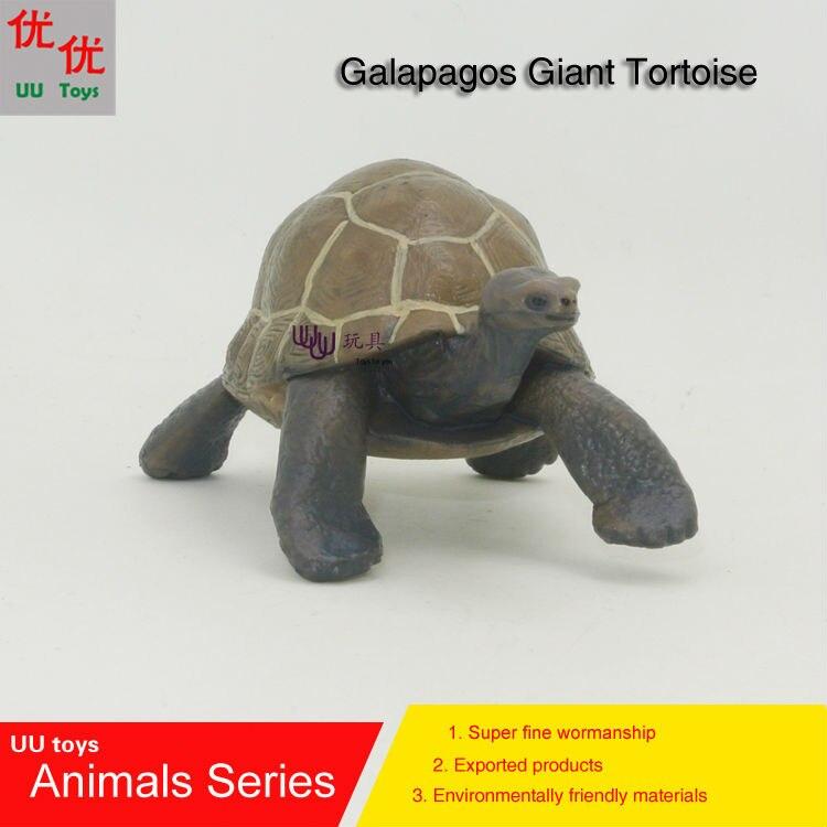 Simulation-Model Galapagos Turtle-Toys Animals Kids Educational-Props Tortoise Giant