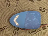 Osmrk blue rear view mirror for Mercedes Benz vito with electric heating, dynamic side turn signal,anti glaring