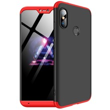 360 Full Protection Case For Xiaomi Mi A2 lite Slim Hard PC Plastic 3 In 1 Back Cover for Xiaomi redmi 6 pro Armor phone cases все цены