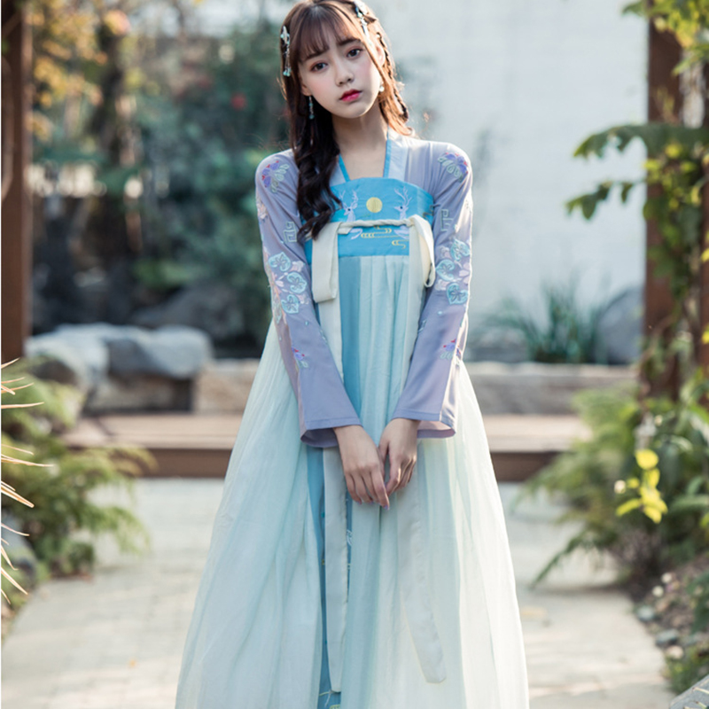 hanfu fairy costume women ancient Chinese costume traditional chinese dress for adult