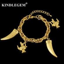 2c6ee3e4b00f Kindlegem Großhandel Italien 750 Reines Gold Farbe Charme Armband Für frauen  Mädchen Partei Täglichen Armreifen Schmuck