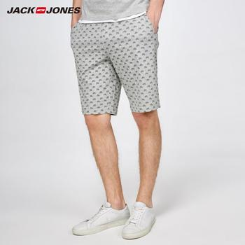 JackJones Men's Printed Knit Shorts Homewear Comfort Pajama Simple Loose Sleepwear Pijamas Menswear Male |2181SH501 1