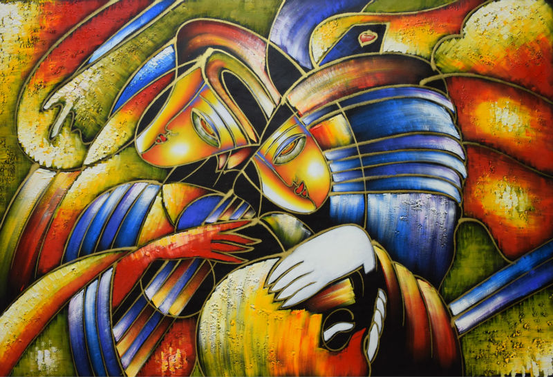 World Famous Paintings Picasso Abstract Painting Play The