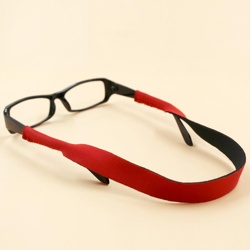 New Spectacle Glasses Sunglasses Stretchy Band Strap Head Sport, Running, Solid Belt Cord Holder Neoprene Head