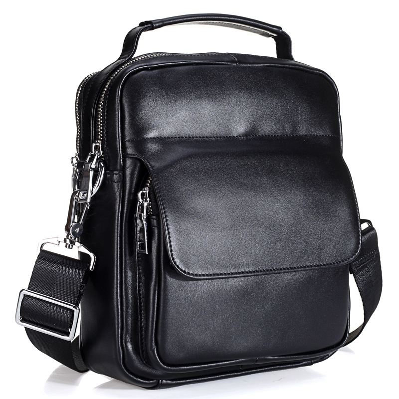 Brand Genuine Leather Business briefcase shoulder bag For Men Casual Messenger Bag High Quality Crossbody Bags designer Handbags genuine leather men bag fashion messenger bags shoulder business men s briefcase casual crossbody handbags man waist bag li 1423