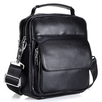 Brand Genuine Leather Business Briefcase Shoulder Bag For Men Casual Messenger Bag High Quality Crossbody Bags