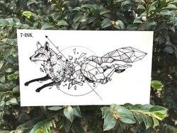 Водонепроницаемые временные тату наклейки луна Хилл лес звезда поддельные тату вспышка тату боди арт ручная нога для девушек женщин мужчин