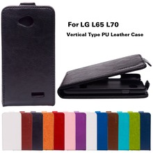 PU Leather For Lenovo L65 Dual D285 Case For LG Optimus L70 L65 D320 D280 Dual D325 D320N W5 Dual MS323 D329 Shell Housing Cover