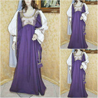 Customer made Historical!Cosplay Renaissance Dress Vintage Costumes Victorian Dress Steampunk dress Gothic Halloween Dress C 687