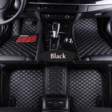 Car floor mats for Mercedes Benz A C W204 W205 E W211 W212 W213 S class CLA GLC ML GLE GL rug one layers of car-styling liners недорого