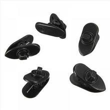 5 PCS Kraag Clips voor Hoofdtelefoon Kabel Oortelefoon Kabel Draad Fijne Nip Klem MP3 MP4 Houder Kraag