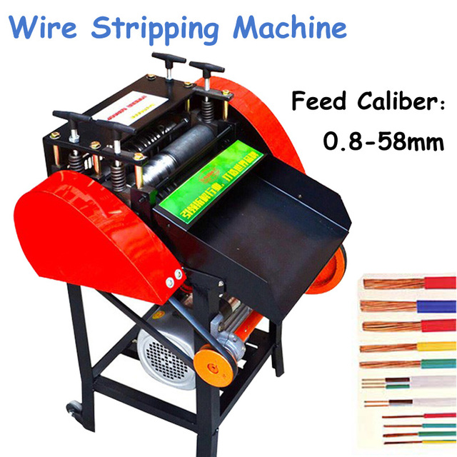 4000W Wire Stripping Machine Automatic Wire Stripping Machine Waste Cable Wire Stripping Machine HK-65A