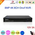 Bule-Ray панель Hi3536C XMeye аудио 8CH * 4 K/32CH * 5MP видео рекордер наблюдения 8MP 4K 8CH 8 канальный H.265 IP Onvif wifi CCTV NVR